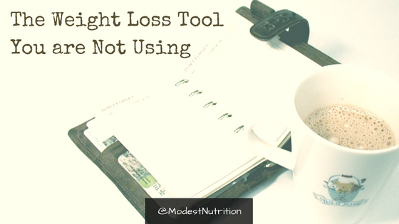the weight loss tool you are not using